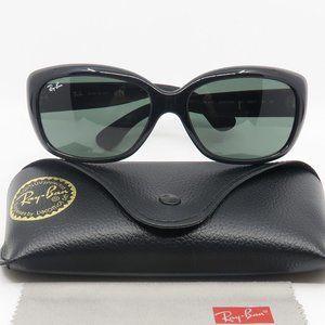 RB 4101 601 Ray-Ban Black/ Green JACKIE OHH Sun